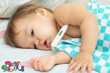 تب و تشنج در خردسالان